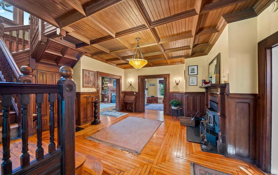 germantown victorian house for sale foyer