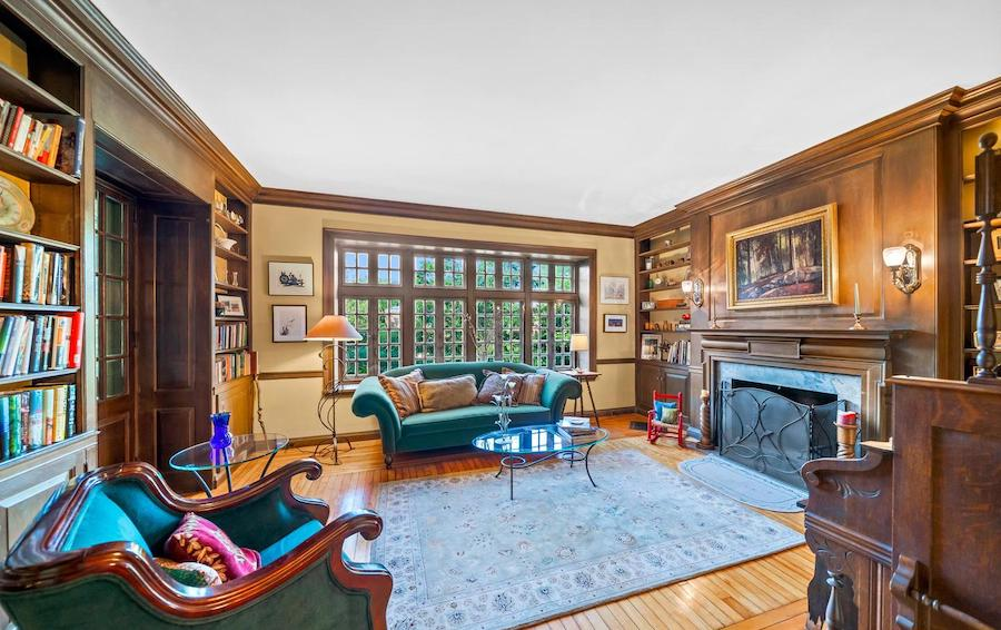 germantown victorian house for sale library/family room
