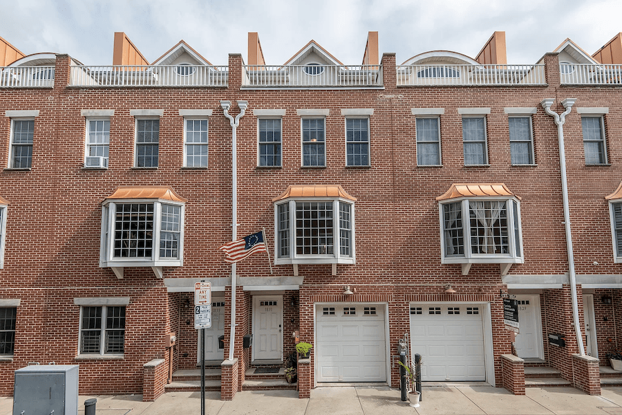 graduate hospital colonial house for sale exterior front