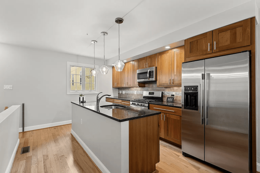 graduate hospital colonial house for sale kitchen