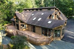 house for sale hemlock farms contemporary exterior rear