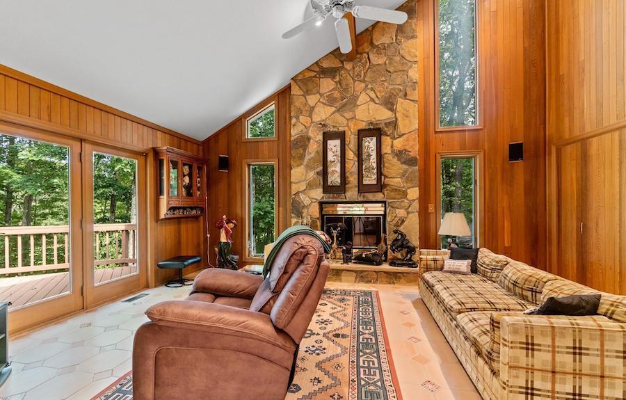 house for sale hemlock farms contemporary family room