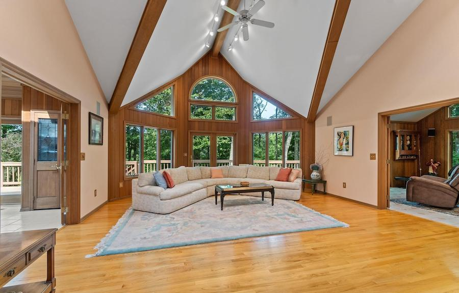 house for sale hemlock farms contemporary great room