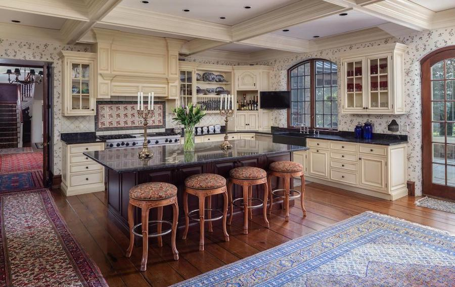 newtown square colonial farmhouse for sale kitchen
