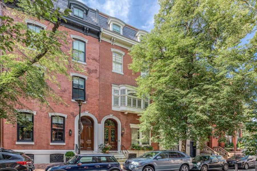 house for sale rittenhouse renovation exterior front