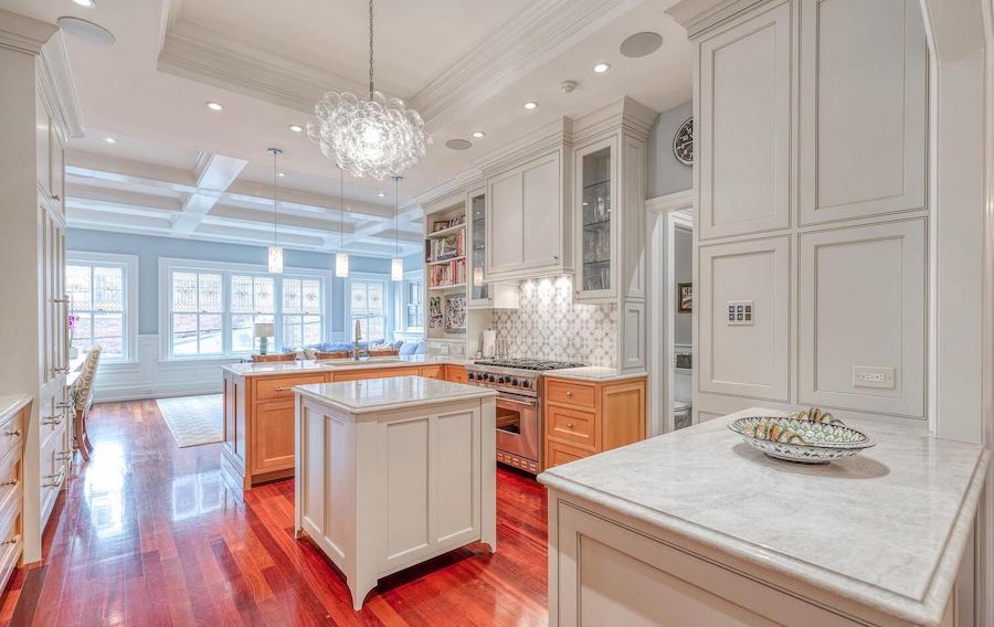 house for sale rittenhouse renovation kitchen