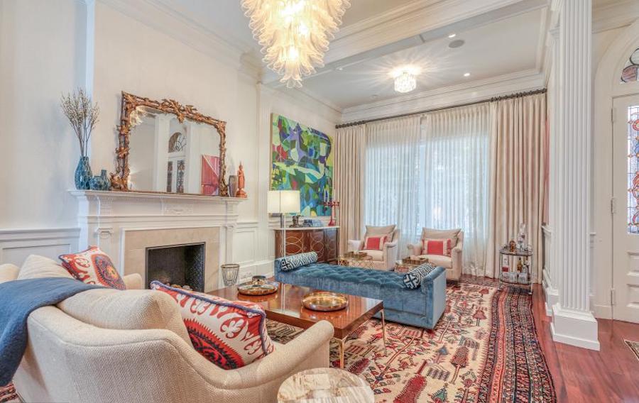 house for sale rittenhouse renovation living room