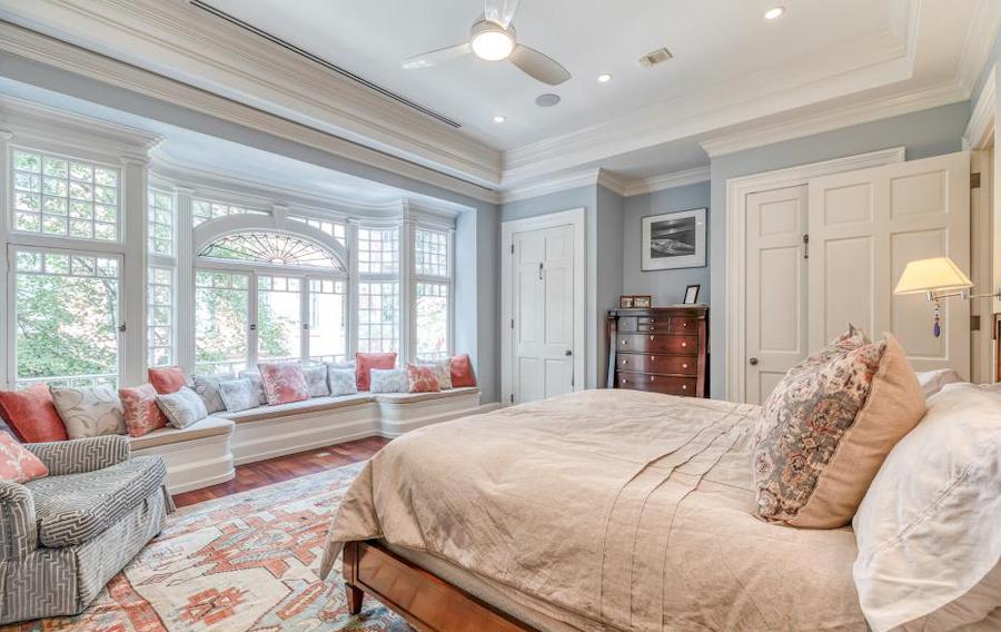 house for sale rittenhouse renovation primary bedroom