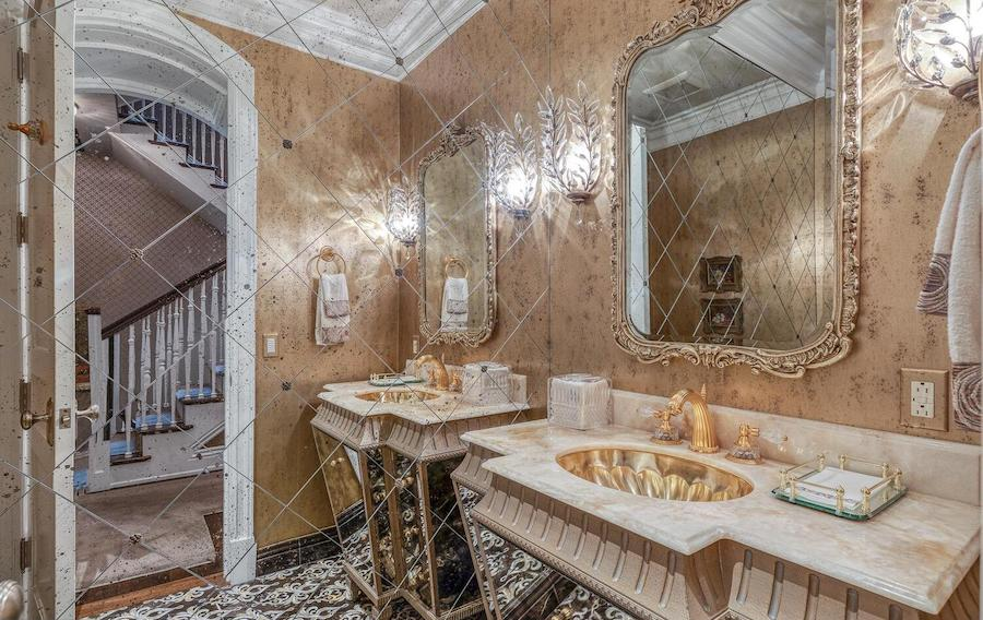 new delancey place townhouse for sale powder room