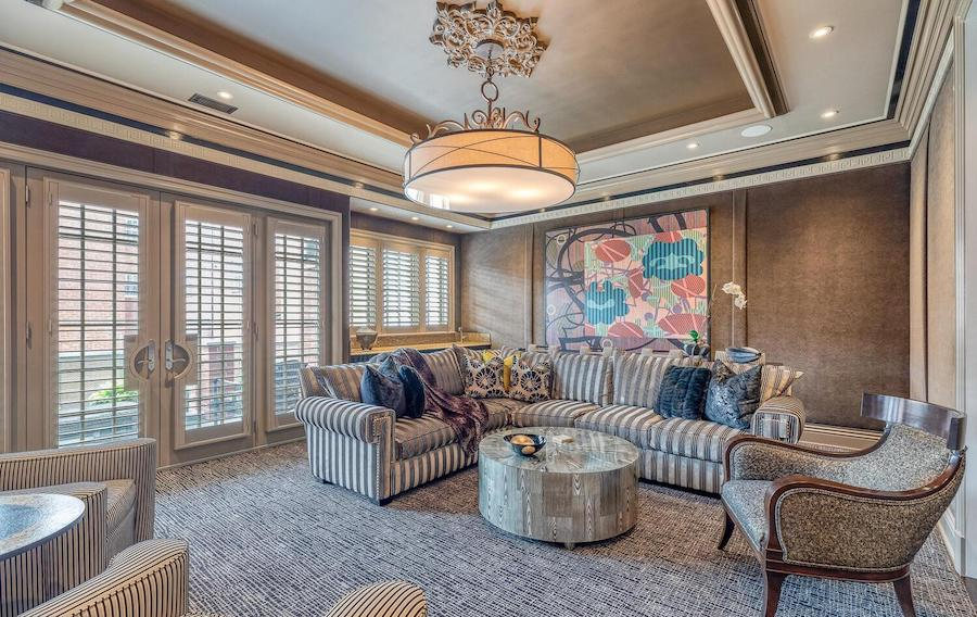 xnew delancey place townhouse for sale home theater