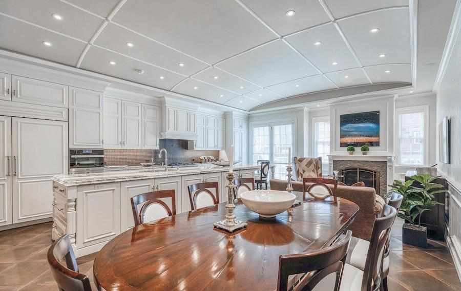 new delancey place townhouse for sale kitchen-den-dining