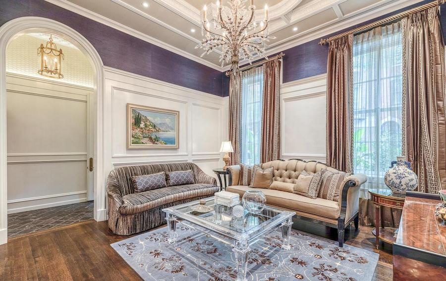 new delancey place townhouse for sale front parlor