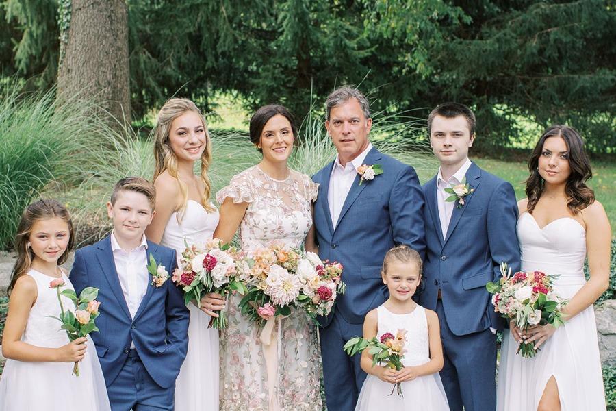 Bucks County vineyard wedding
