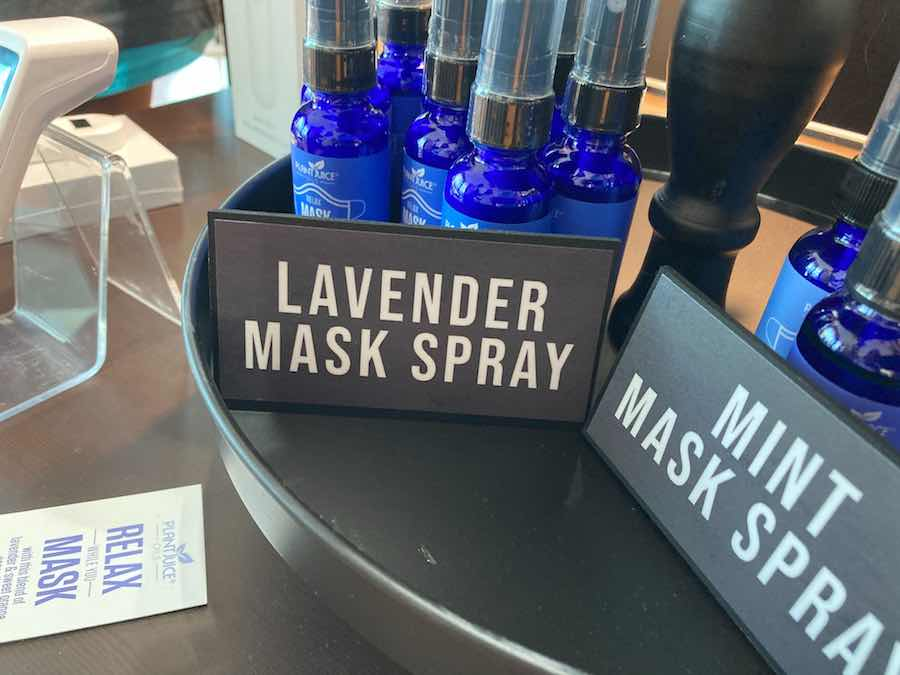 mask spray at the COVID store at the King of Prussia Mall