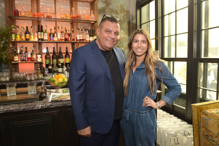 stephen starr, who just declared bankruptcy on one of his restaurants, and daughter Sarah Starr