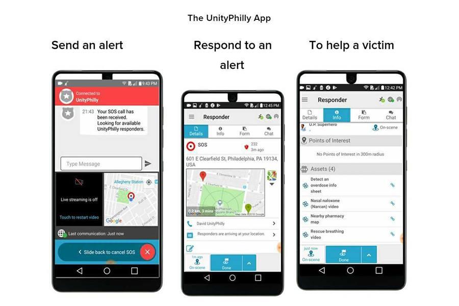 UnityPhilly app