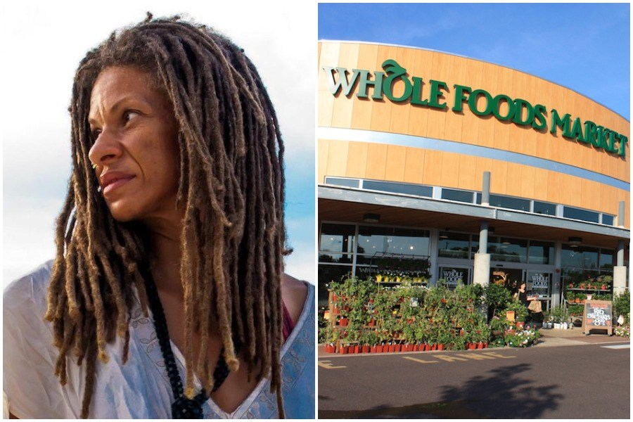Former Whole Foods Plymouth Meeting employee Michelle Brown, who has filed a racial discrimination suit against the company
