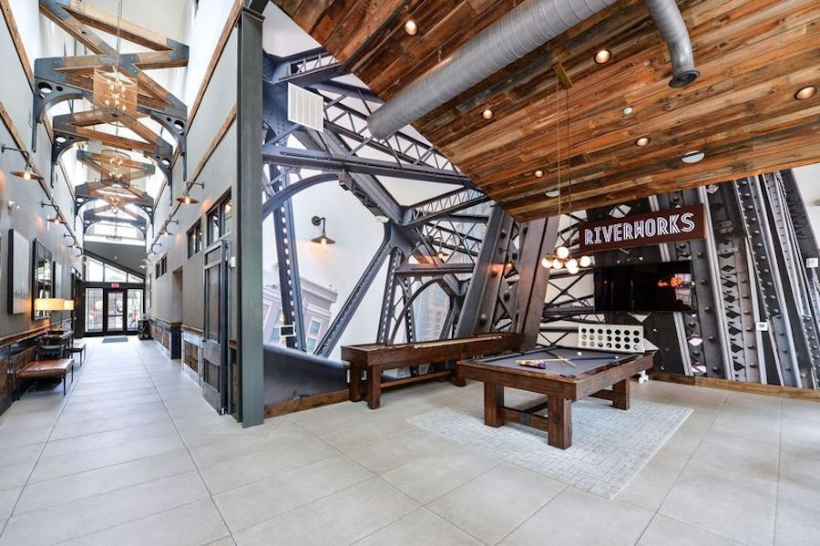 riverworks clubhouse interior