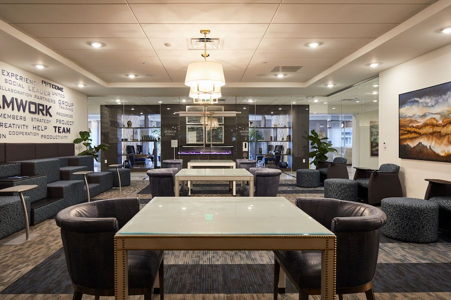 station at willow grove co-working lounge