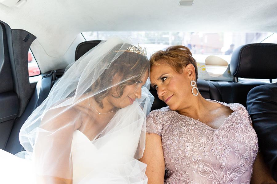 la mère de la mariée
