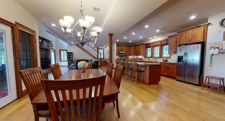 white heron lake house for sale main floor