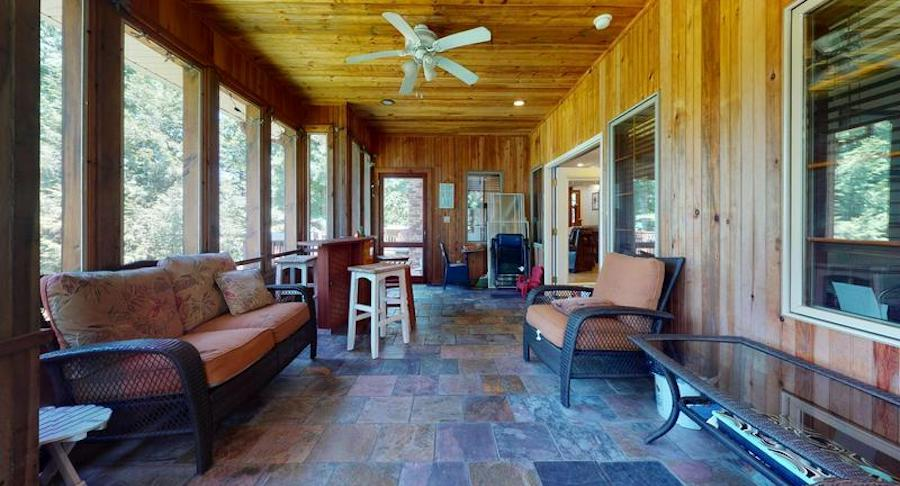 white heron lake house for sale sun porch