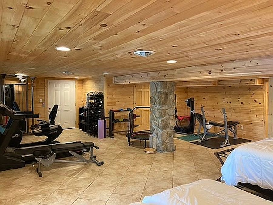 house for sale greentown lakeside gym