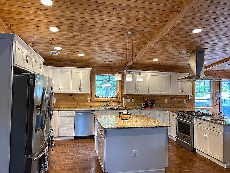 house for sale greentown lakeside kitchen