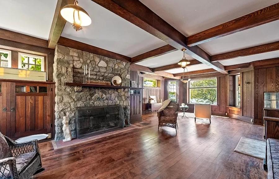house for sale mt arlington craftsman living room