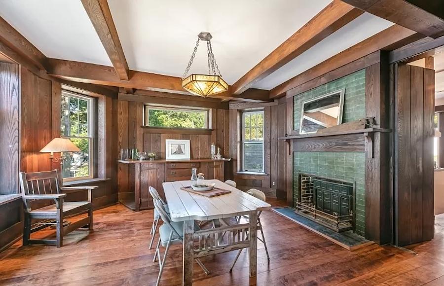 house for sale mt arlington craftsman dining room