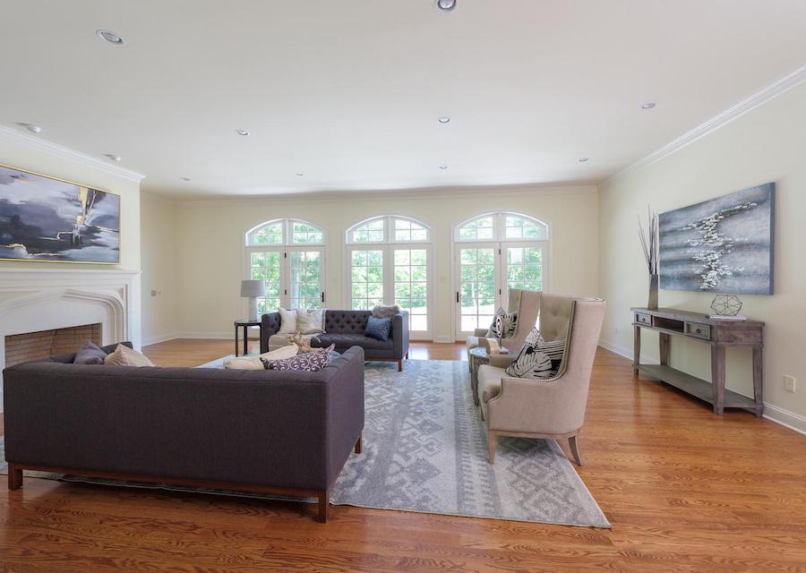 house for sale new hope norman great room