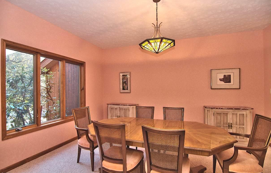 house for sale Pocono Pines contemporary formal dining room
