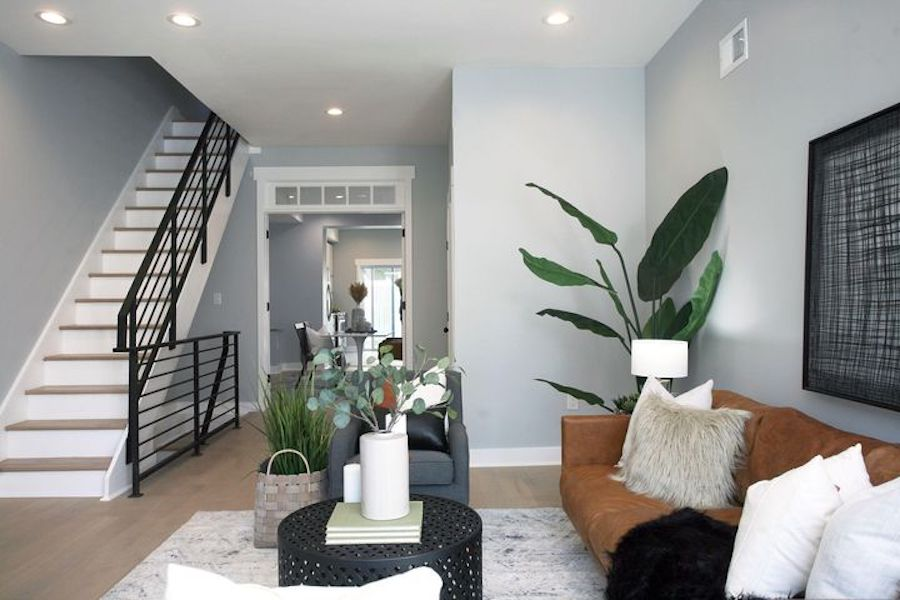 house for sale point breeze rebuilt row living room