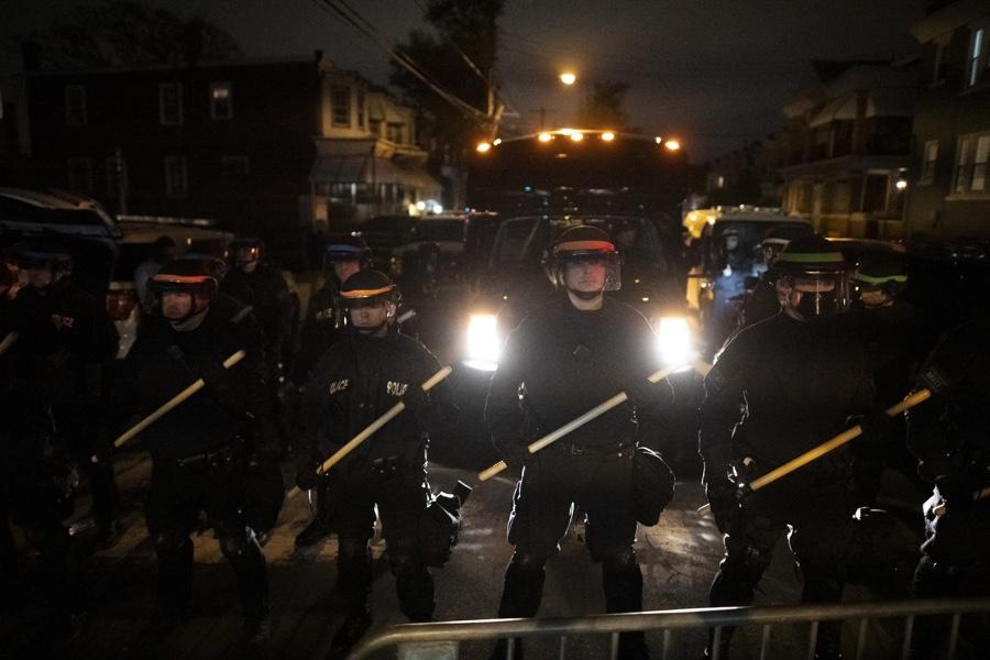 police protests philadelphia
