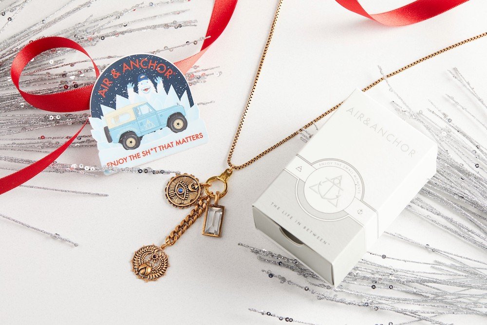 air and anchor necklace