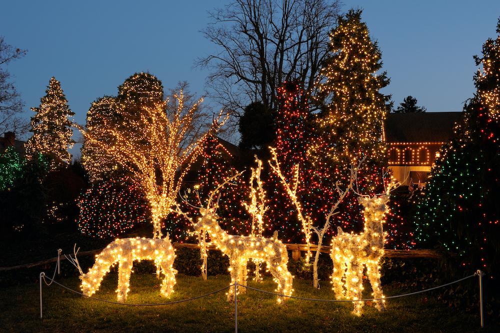 Christmas Lights in Peddler's Village