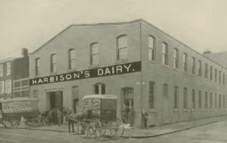 harbisons dairy apartment profile original building
