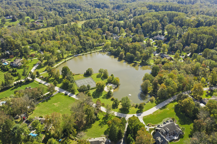 house for sale berwyn lakeside colonial leopard lake