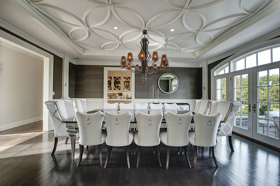house for sale Newtown Norman mansion formal dining room