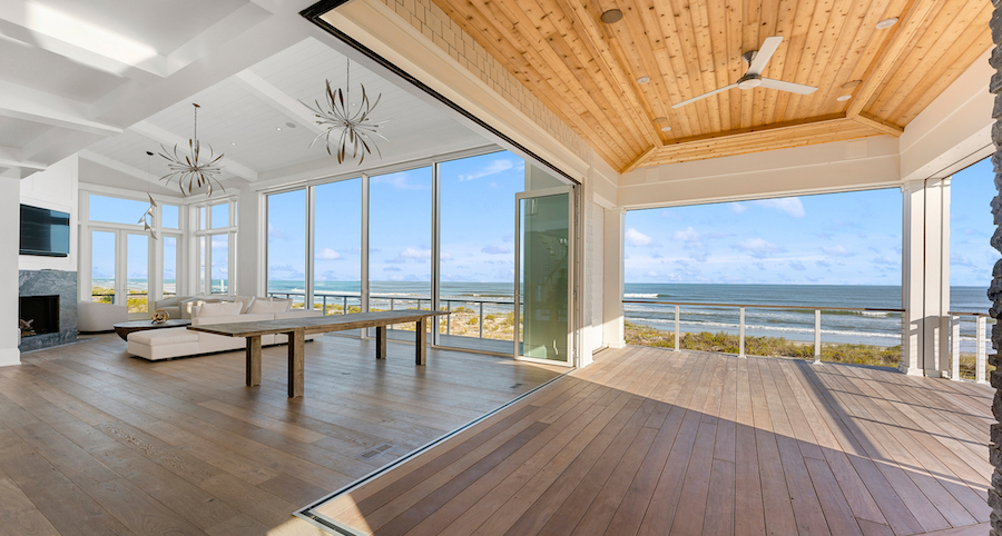 house for sale stone harbor beachfront deck and great room