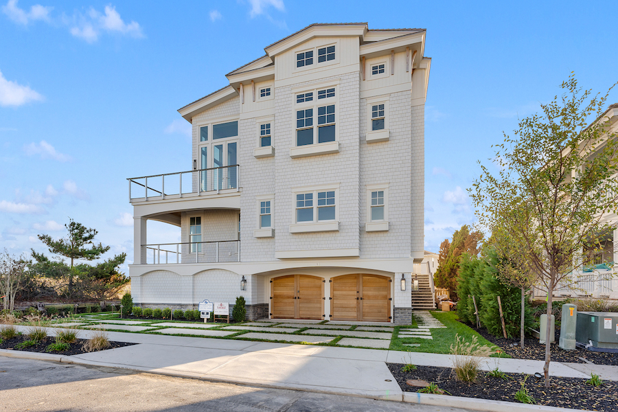 house for sale stone harbor beachfront street elevation