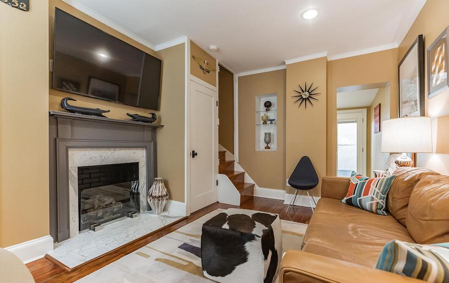 house for sale wash west renovated trinity living room
