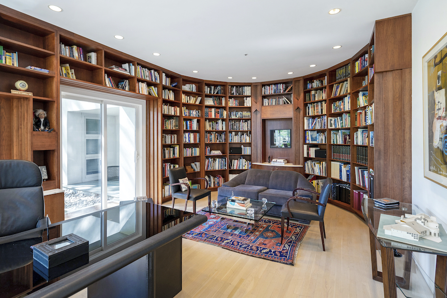 house for sale Flourtown modern manor library
