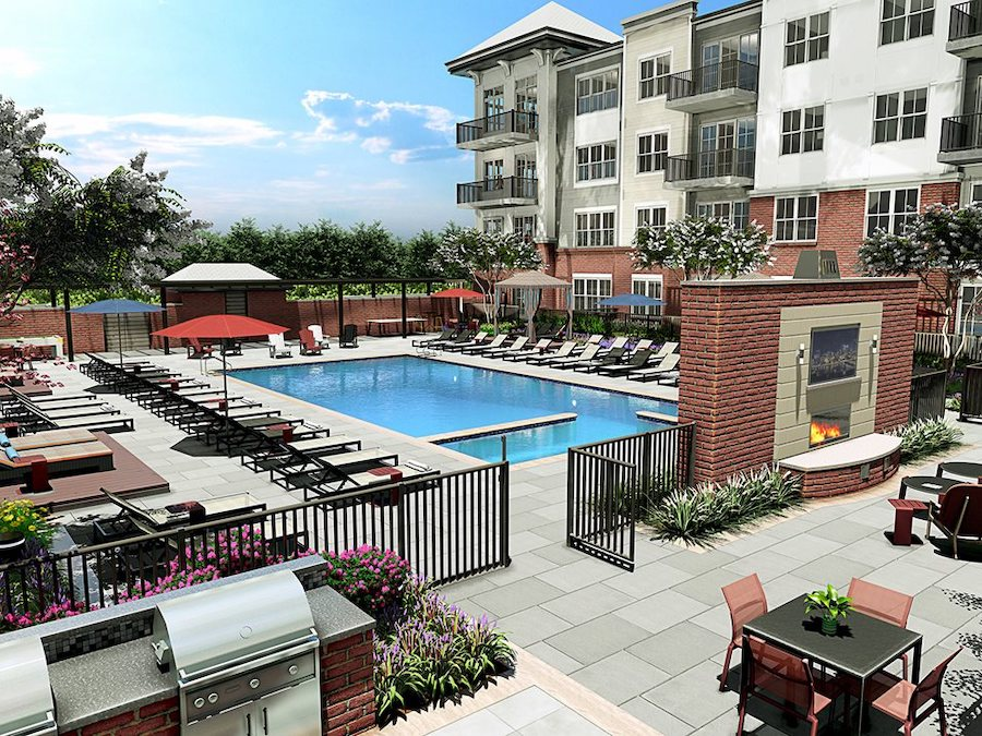 inwood pool and outdoor lounge