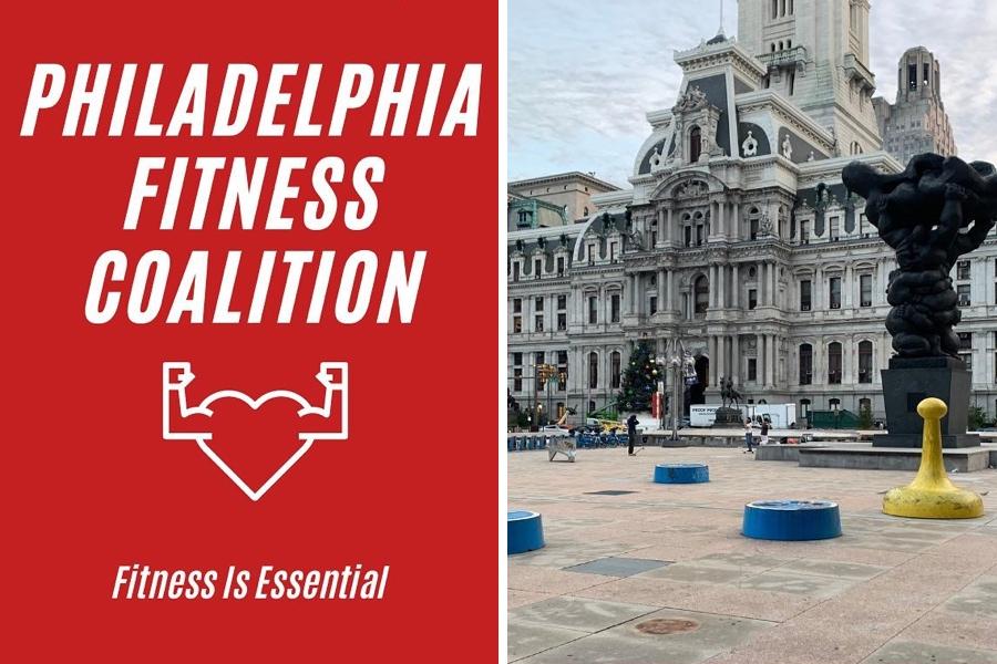 Philadelphia Fitness coalition logo