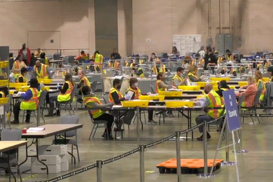 ballot counting stream