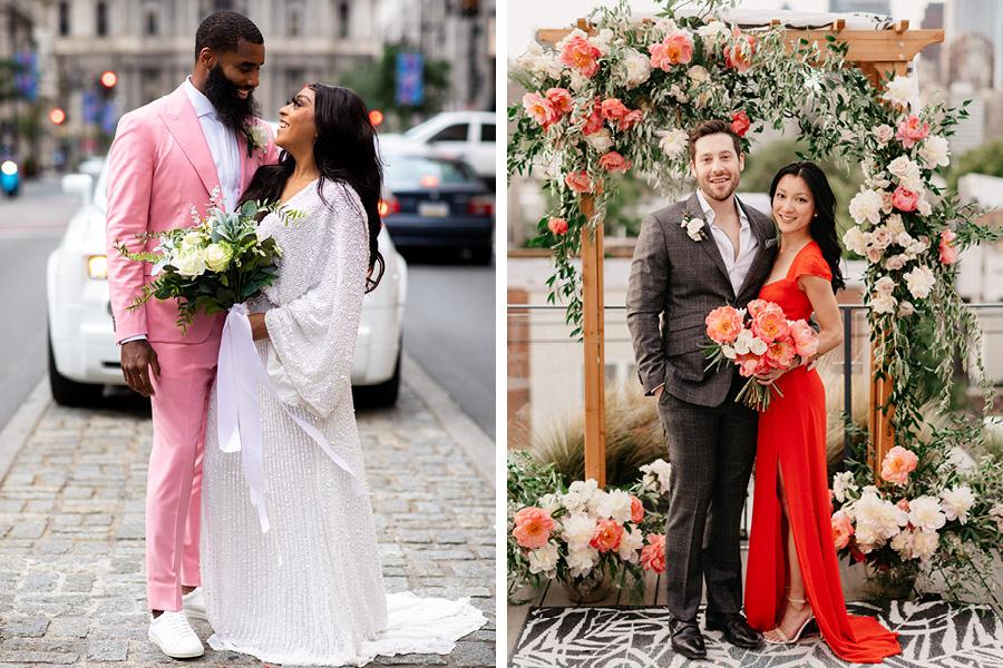 Mariages pandémiques à Philadelphie