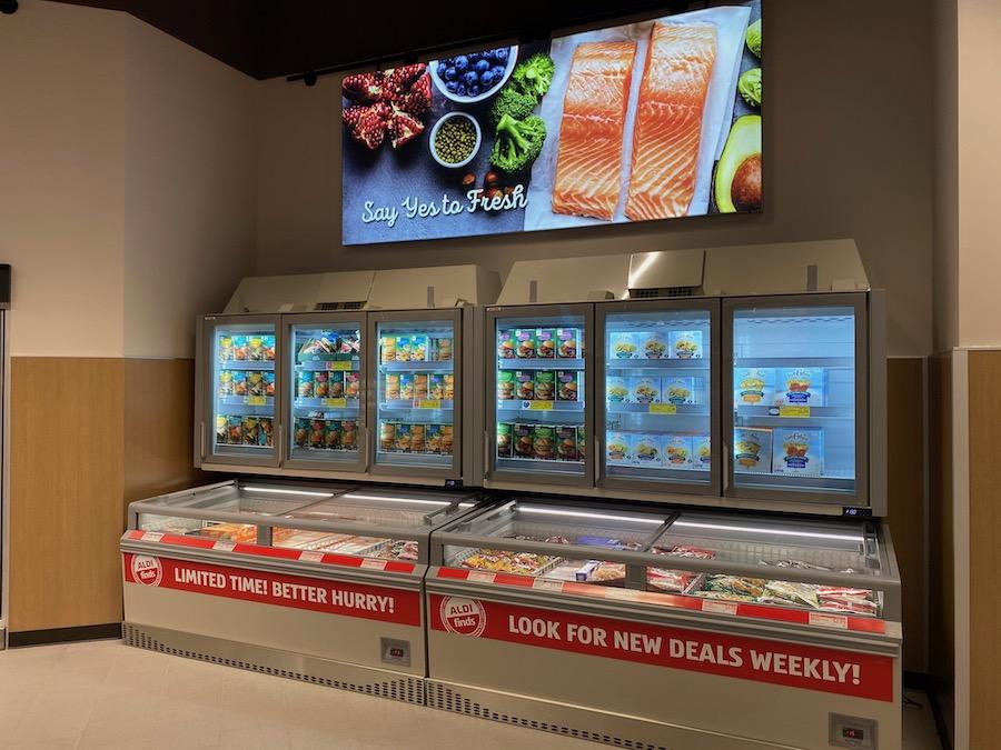 new-style freezer display