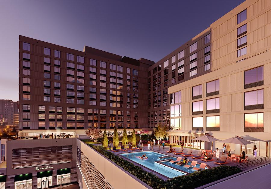 broadridge apartment preview pool deck