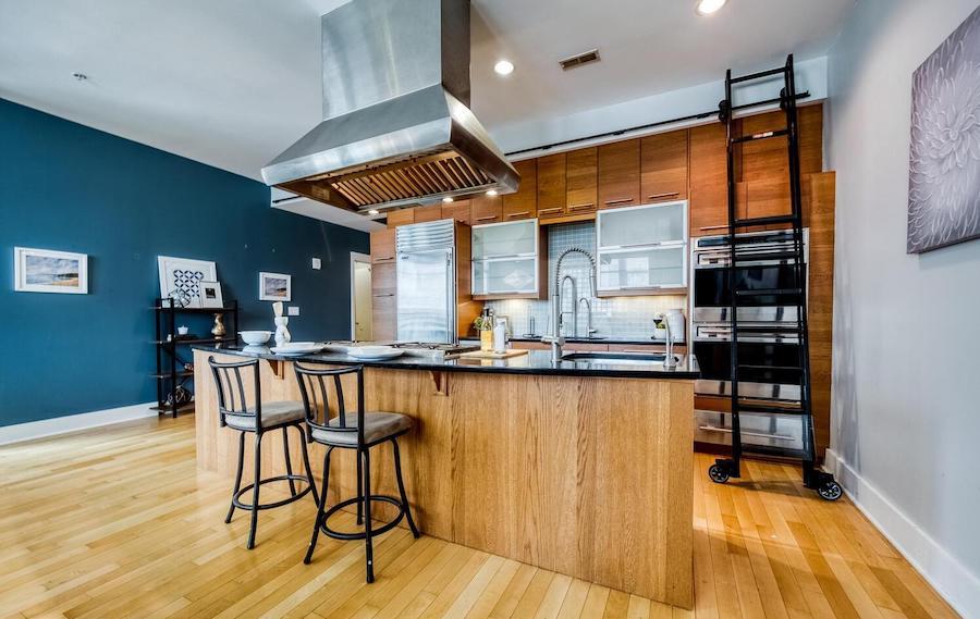 condo for sale wash west modern kitchen